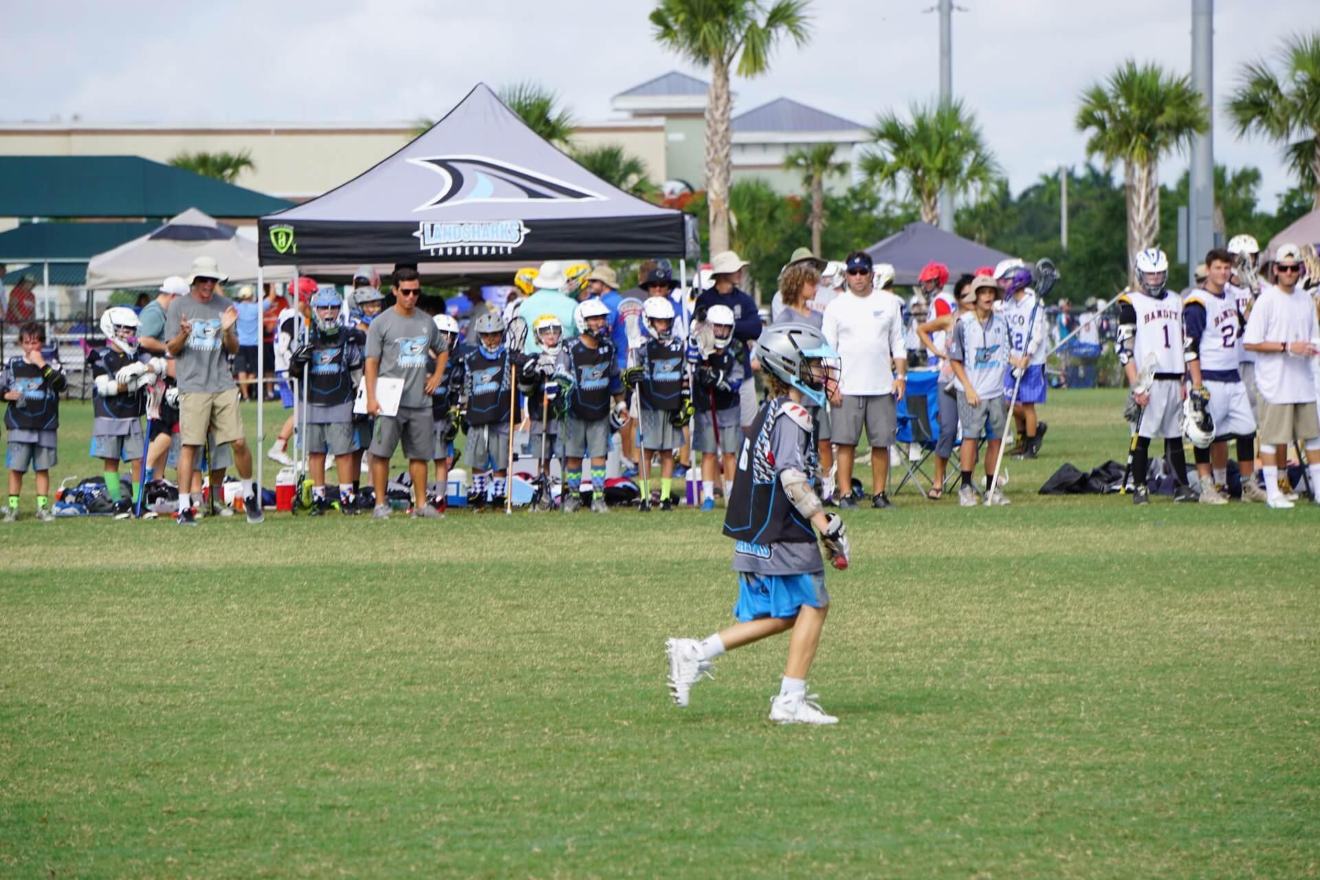 Lauderdale Landsharks Lacrosse Team